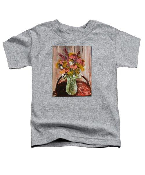 August Flowers Toddler T-Shirt