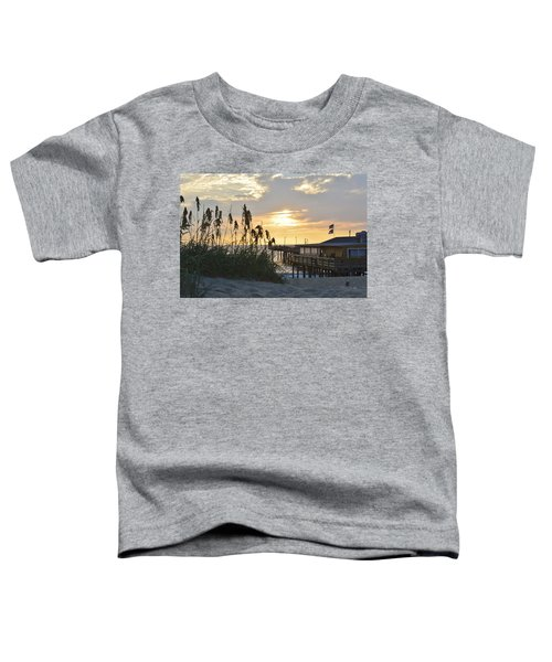 August Sunrise On The Obx  Toddler T-Shirt