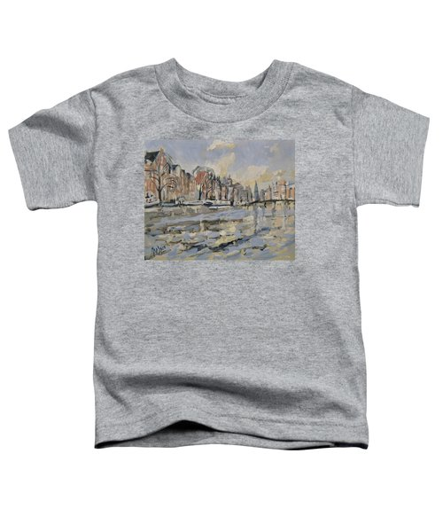 Autumn Along The Amstel In Amsterdam Toddler T-Shirt
