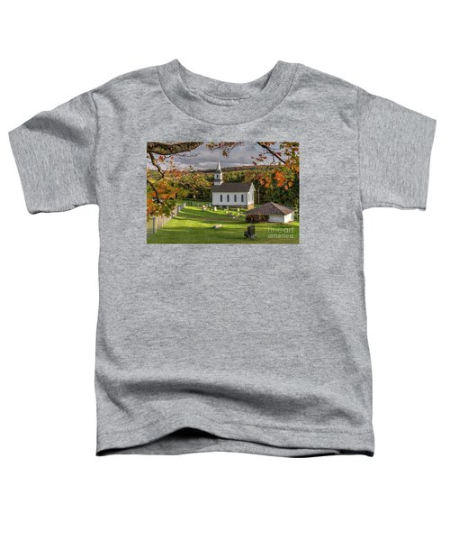 Autumn Church Toddler T-Shirt
