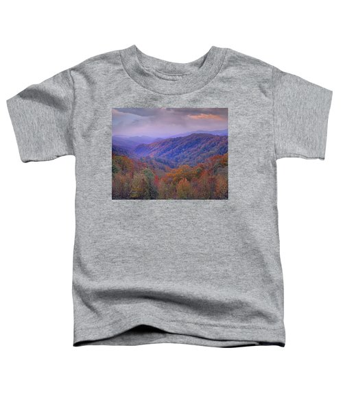 Autumn Deciduous Forest Great Smoky Toddler T-Shirt