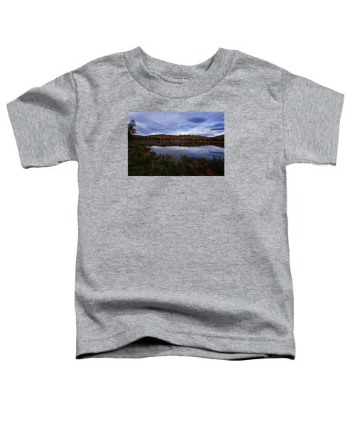 Autumn On North Pond Road Toddler T-Shirt