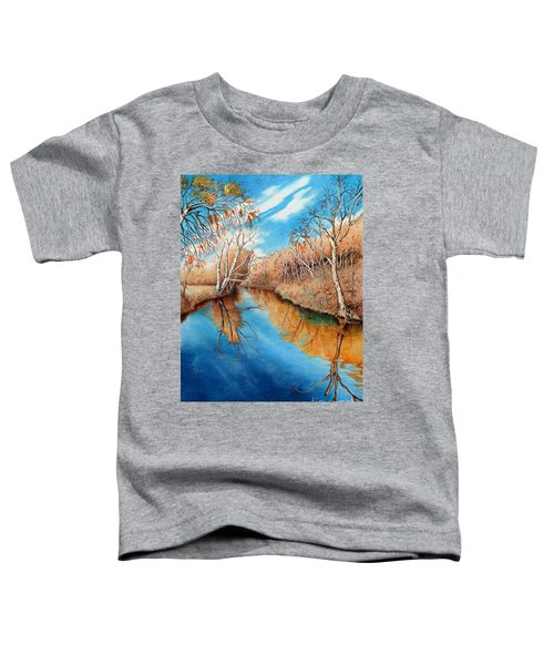 Autumn On The Elkhorn Toddler T-Shirt