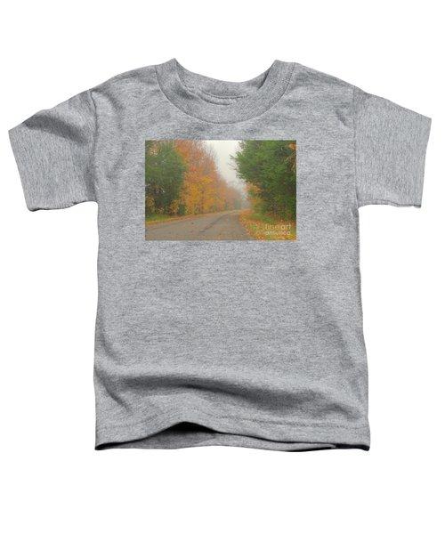 Autumn Roads Toddler T-Shirt