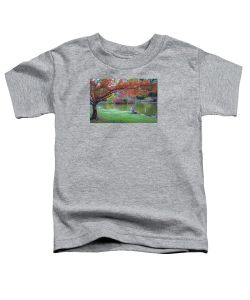 Autumn's Embrace Toddler T-Shirt