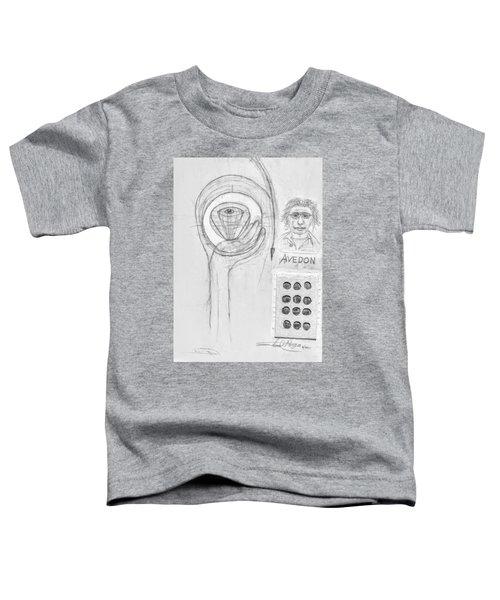 Avedon Master Of The Lens Toddler T-Shirt