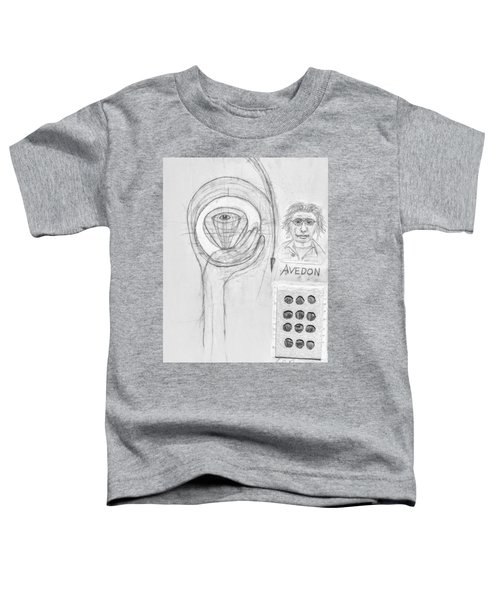 Avedon Master Of The Lens Toddler T-Shirt