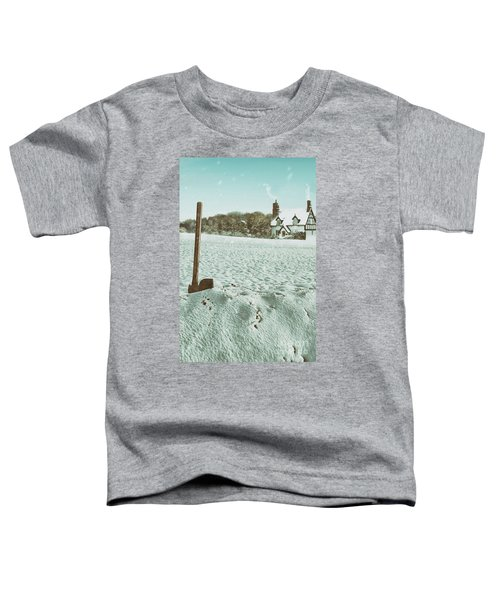 Axe In The Snow Toddler T-Shirt