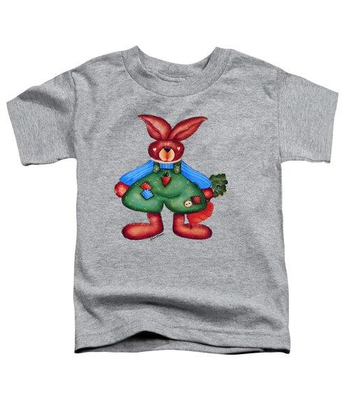 B Is 4bunny Toddler T-Shirt by Tami Dalton