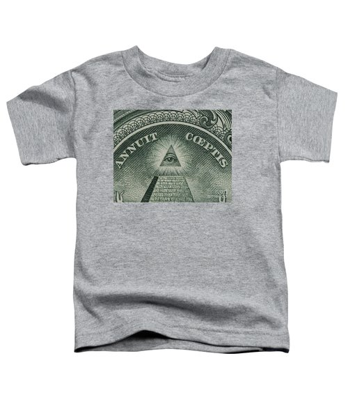 Back Of 1 Dollar Bill Toddler T-Shirt