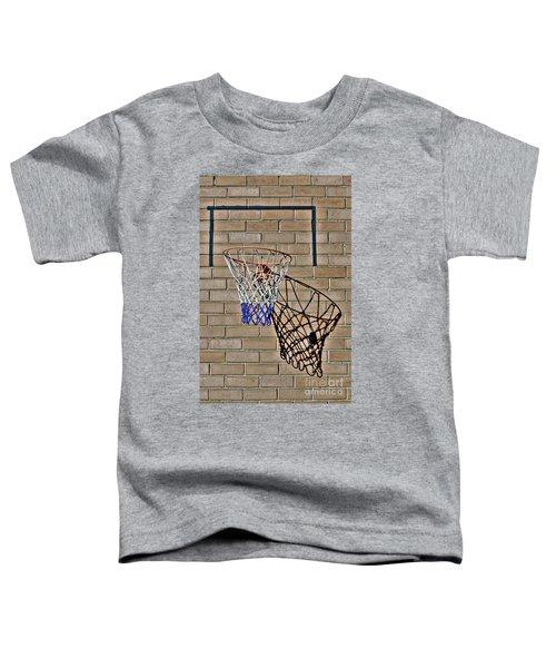 Backyard Basketball Toddler T-Shirt