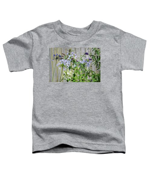 Backyard Flowers Toddler T-Shirt