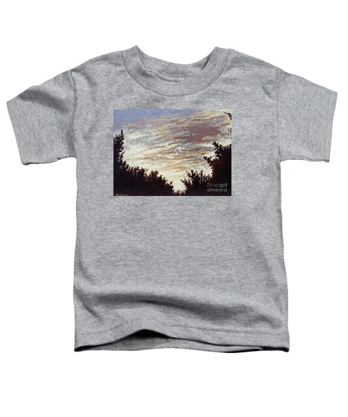 Backyard Sunset Toddler T-Shirt