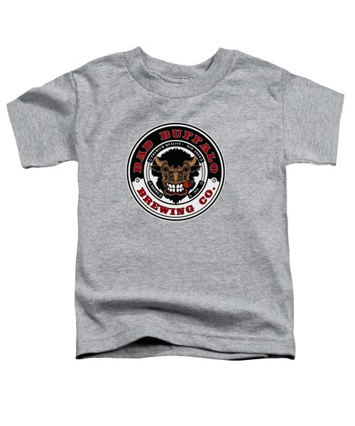 Bad Buffalo Brewing Toddler T-Shirt by Christopher Williams