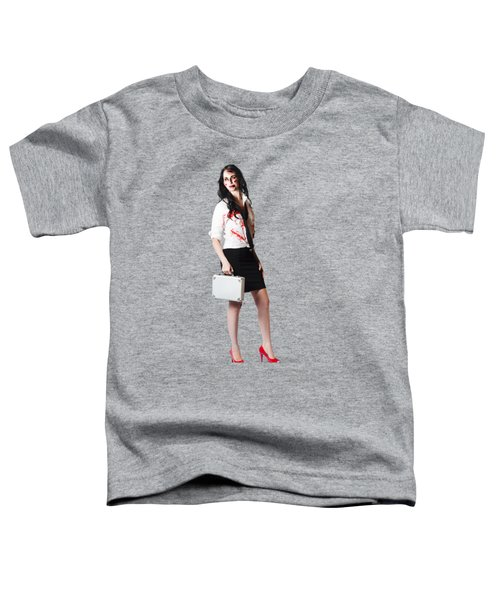 Toddler T-Shirt featuring the photograph Bad Day At The Office by Jorgo Photography - Wall Art Gallery