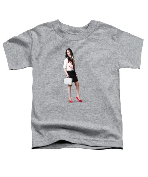 Bad Day At The Office Toddler T-Shirt