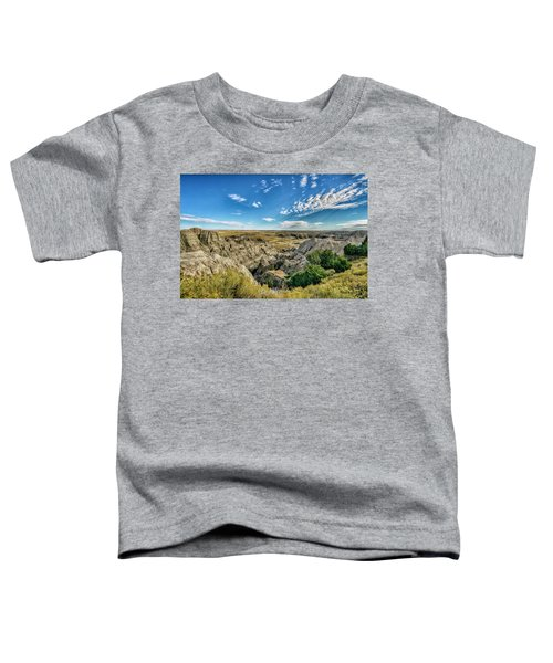 Bad Lands South Dakota.... Toddler T-Shirt