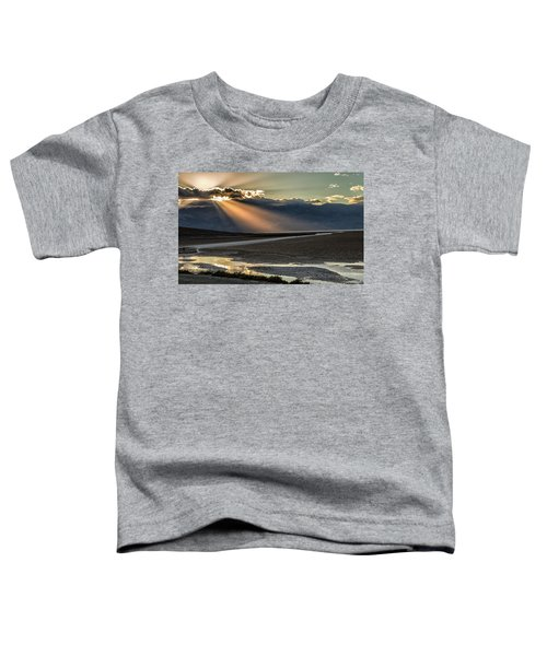 Bad Water Basin Death Valley National Park Toddler T-Shirt