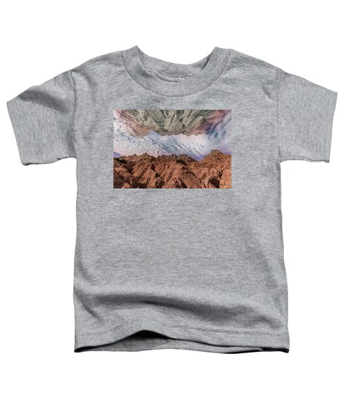 Badlands Reflection.... Toddler T-Shirt