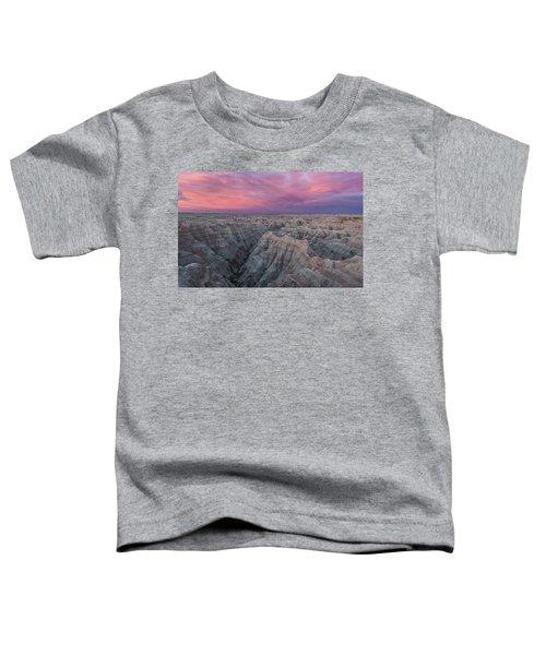 Badlands Sunrise Toddler T-Shirt
