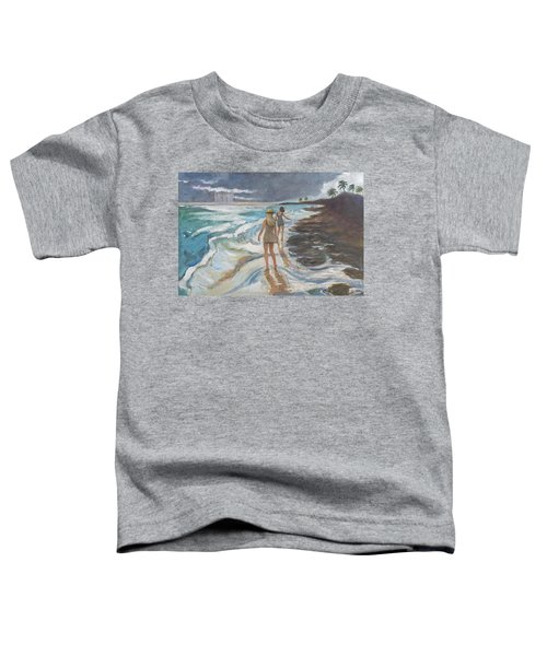 Bahia Honda Beach Toddler T-Shirt