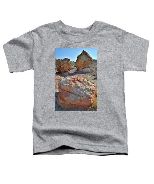Balanced Boulders In Bentonite Site Toddler T-Shirt