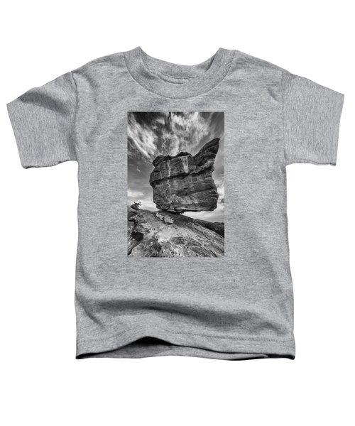 Balanced Rock Monochrome Toddler T-Shirt