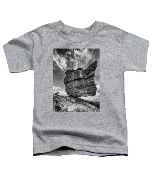 Balanced Rock Monochrome Toddler T-Shirt