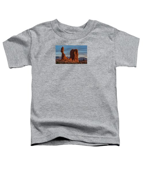 Balanced Rock Sunset Toddler T-Shirt