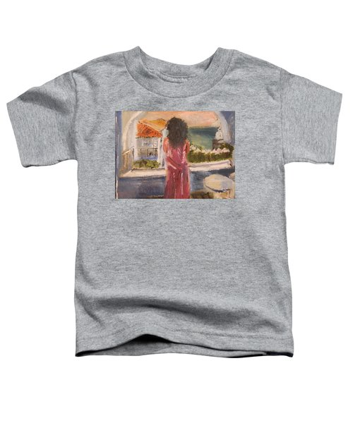 Balcony View Toddler T-Shirt