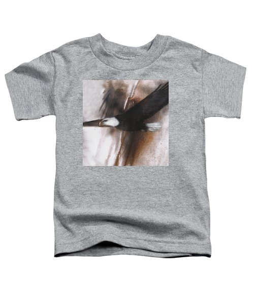 Bald Eagle Flight Toddler T-Shirt