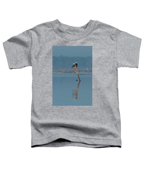 Bald Eagle Pair Toddler T-Shirt