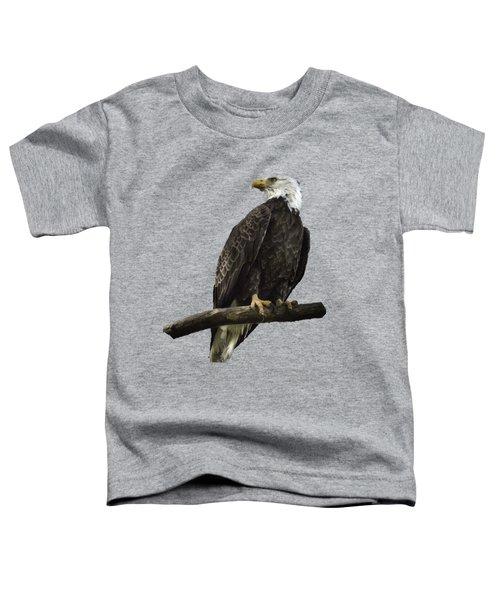 Bald Eagle Transparency Toddler T-Shirt
