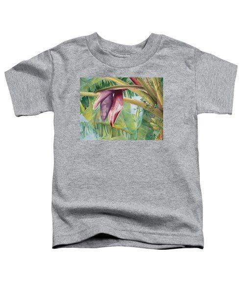 Banana Flower Toddler T-Shirt