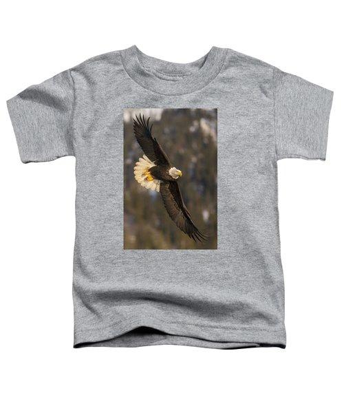 Banking Bald Eagle Toddler T-Shirt