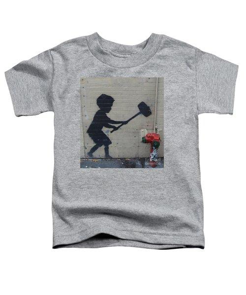 Banksy In New York Toddler T-Shirt