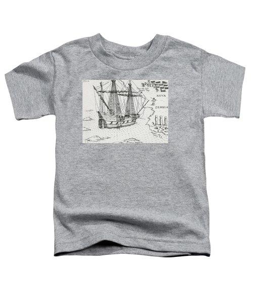Barents' Ship At Nova Zembla Toddler T-Shirt