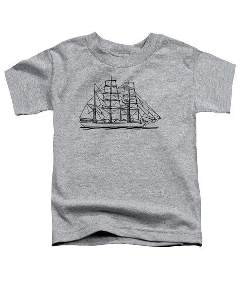 Bark Ship Toddler T-Shirt