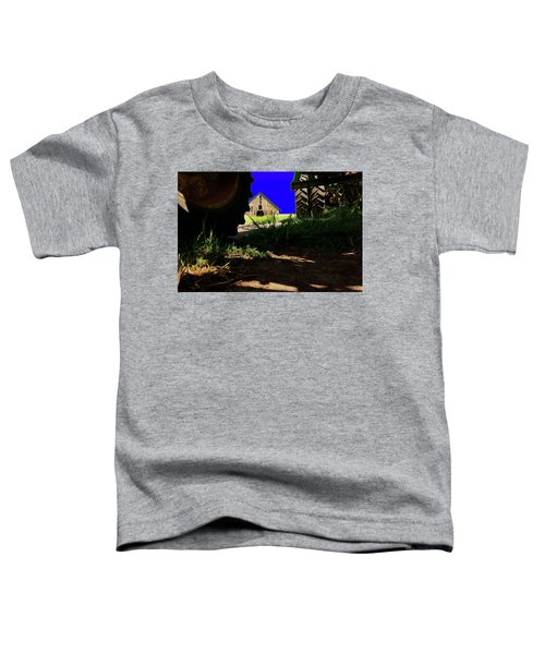 Barn From Under The Equipment Toddler T-Shirt