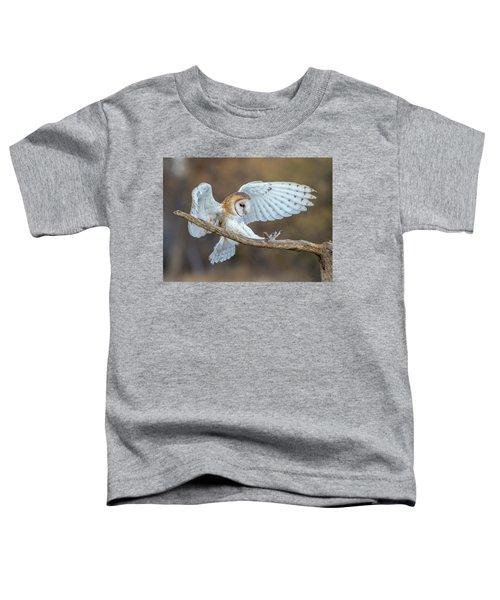 Barn Owl In Flight Toddler T-Shirt