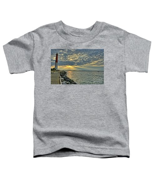 Barneget Lighthouse  New Jersey Toddler T-Shirt