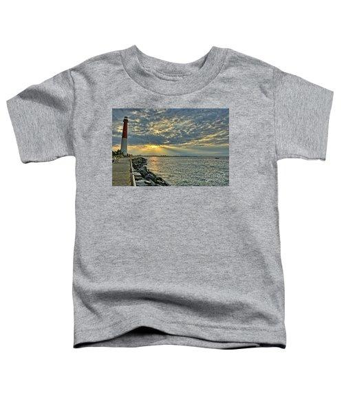 Barneget Lighthouse  New Jersey Toddler T-Shirt
