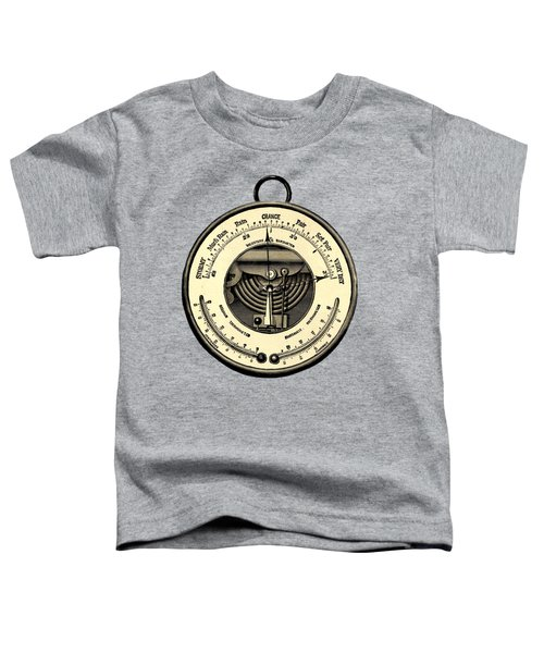 Barometer Vintage Tool Dictionary Art Toddler T-Shirt