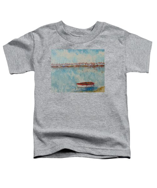 Barque Au Large De Marseille Toddler T-Shirt