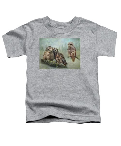 Barred Owls - Steal A Kiss Toddler T-Shirt
