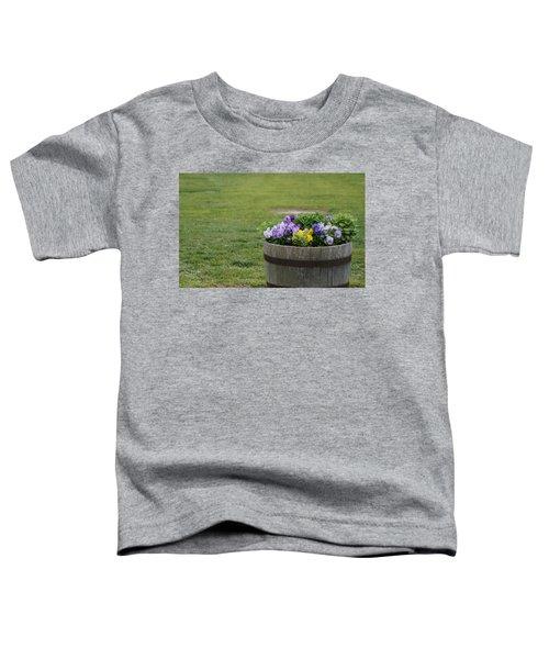 Barrel Of Flowers Toddler T-Shirt