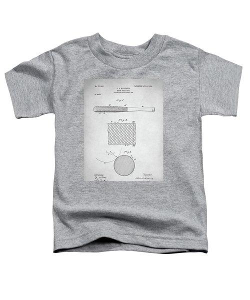 Baseball Bat Patent Toddler T-Shirt