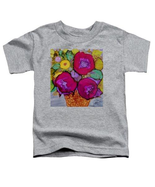 Basket Of Blooms Toddler T-Shirt