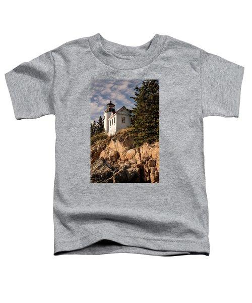 Bass Harbor Lighthouse Toddler T-Shirt