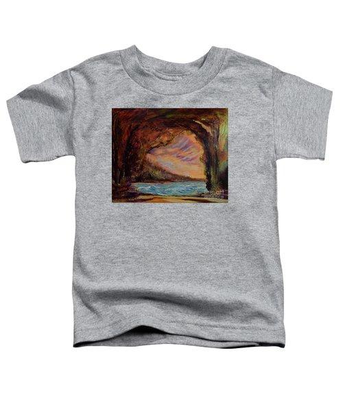 Bat Cave St. Philip Barbados  Toddler T-Shirt